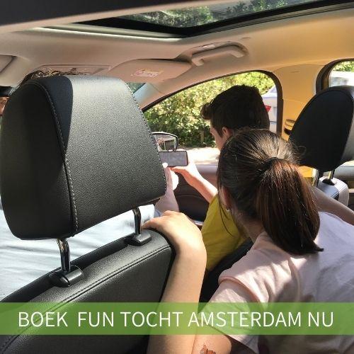 Auto Fun Tocht Amsterdam