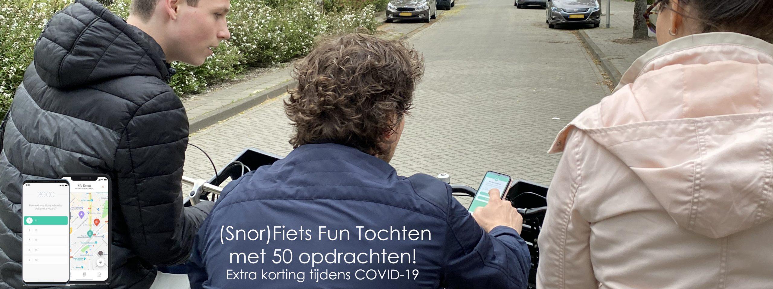 Fiets Fun Tochten in heel Nederland
