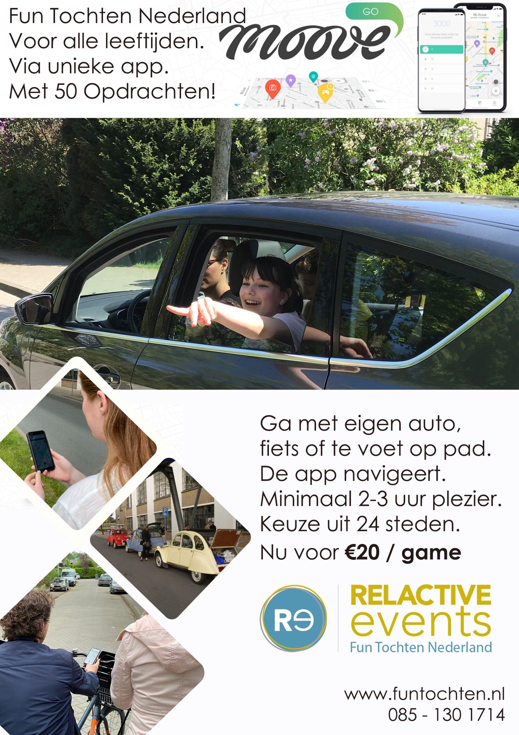 fun tochten nederland in 24 steden