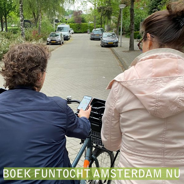 Fietstocht Amsterdam