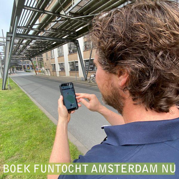 Wandeltocht Amsterdam