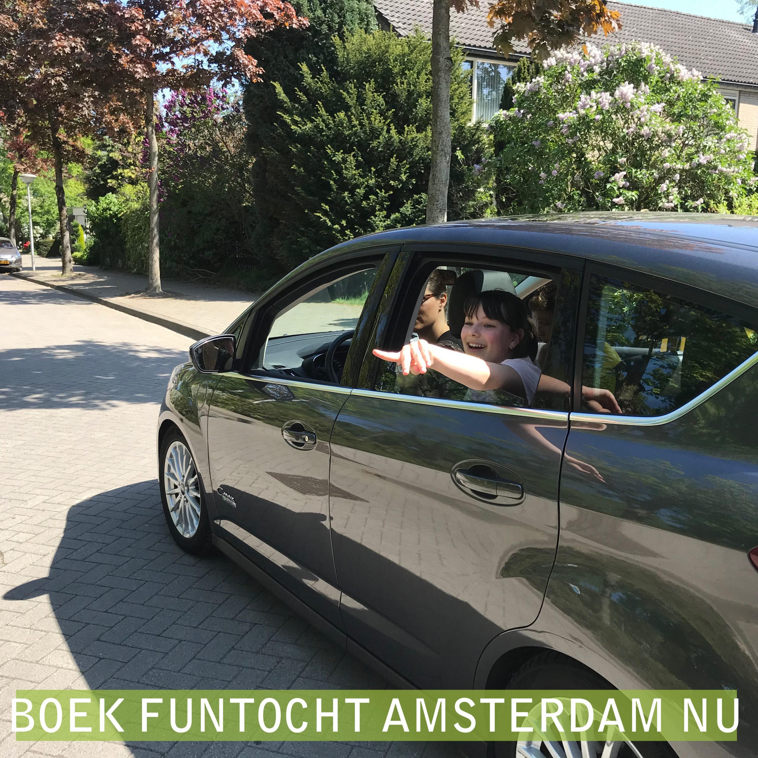 autopuzzeltocht Amsterdam