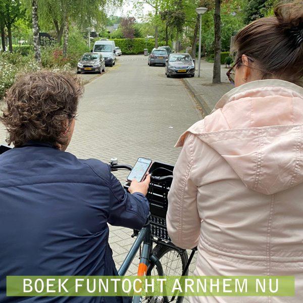 Fun Fiets Tocht Arnhem