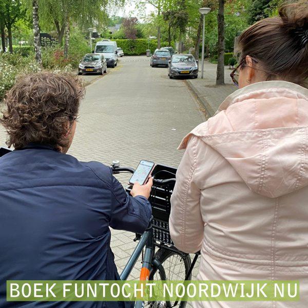 Fun Fiets Tocht Noordwijk