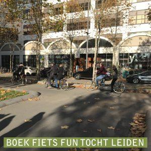 Fiets tocht Leiden