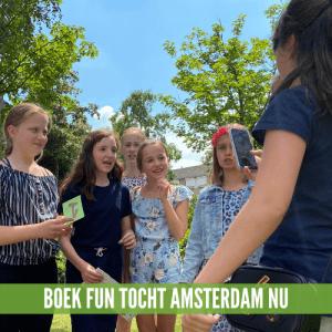 Wandel Kinder Speurtocht Amsterdam